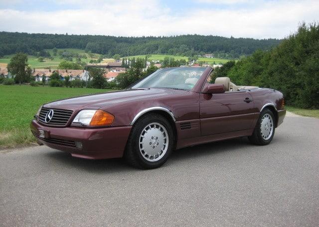 Mercedes benz 500 sl retro promotion oldtimerevents und for Mercedes benz 640