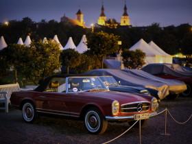 RETRO Classics Meets Barock 2015 - Sonnenuntergang - Mercedes-Benz Pagode