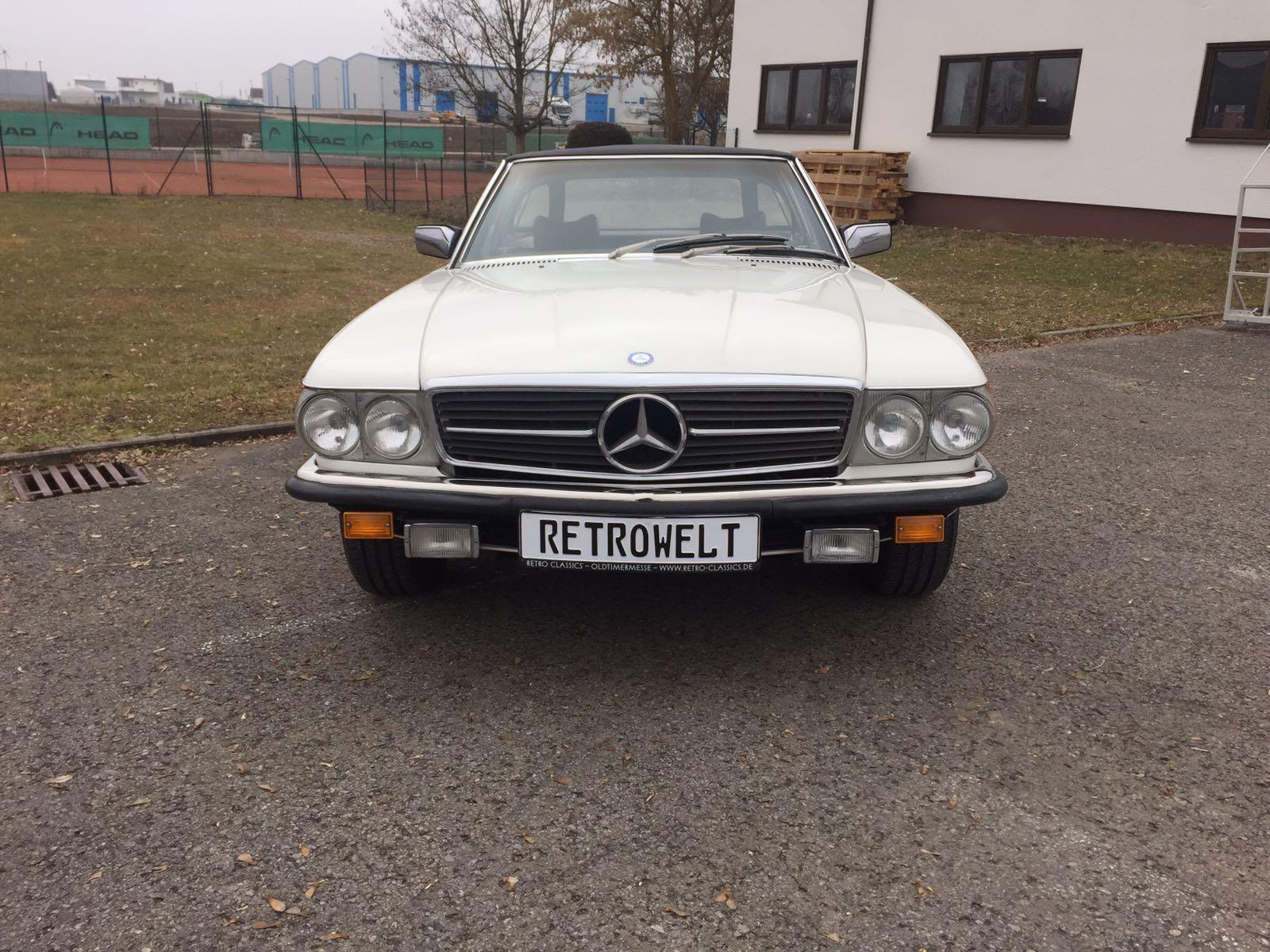 Mercedes Benz 450 Sl Retro Promotion Oldtimerevents Und